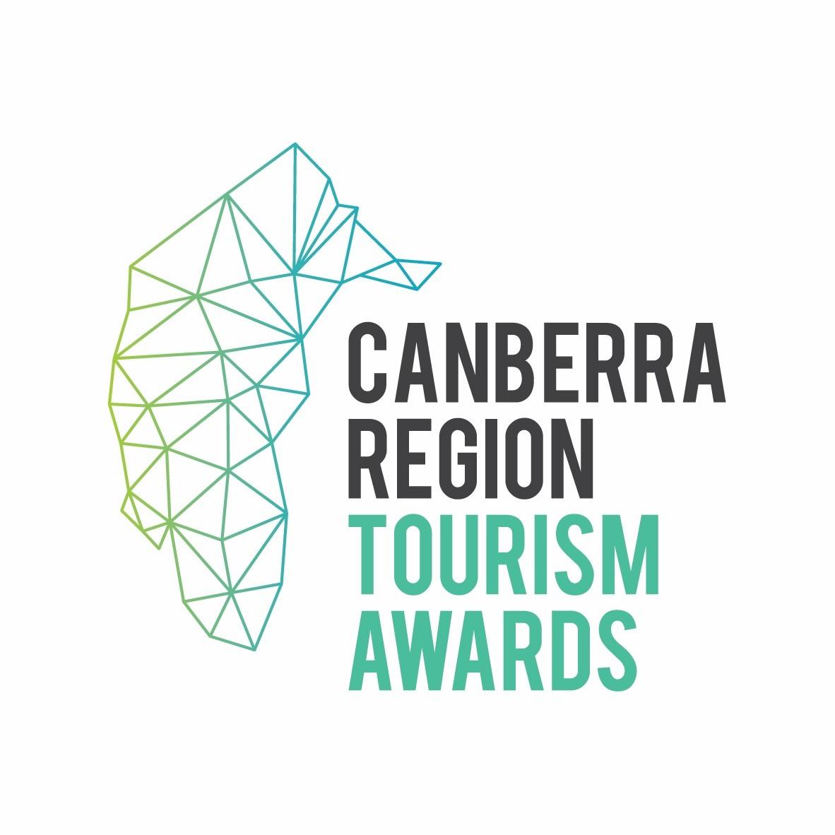 Tourism awards logo for Canberra Region Tourism Awards